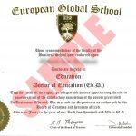 EGS sample degree