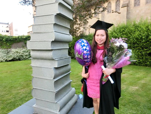 Tina Shares Her Personal Growth Studying at Bangkok School of Management