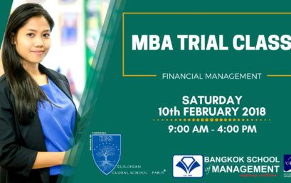 MBA Trial Class: Financial Management